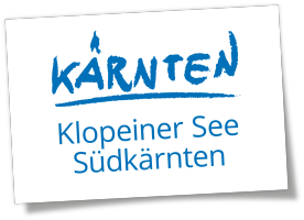 Klopeiner See Südkärnten Logo NEU